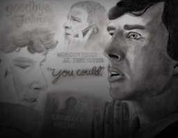 Sherlock - Saying Goodbye by ArtistEamane