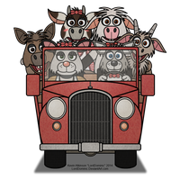 Possum County Pickup Truck by LordDominic