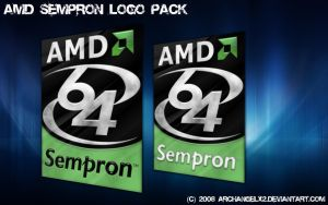AMD Sempron Logo Pack by ArchangelX2