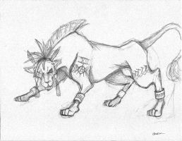 Red XIII by theredhoodie