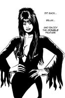 Elvira's Double Feature by quillcrow