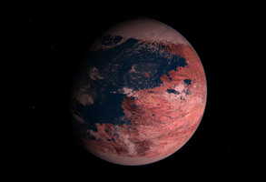 Kepler 186 F by Dragontunders