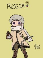 APH - Chibi Russia by GorillazGirl1