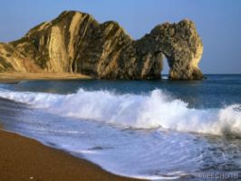 Durdle Door in Weymouth by MagicalCrystal