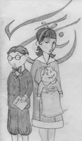The Baudelaires by ZoSoTheTwirp