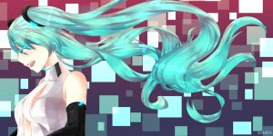 Miku Append by NI-23