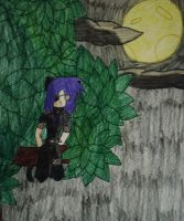 Demon of the forest by LilGothicPanda