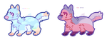Puppo adopts (2/2 OPEN) by RestlessParadox