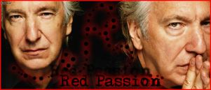 Red Passion - Alan Rickman by CharlieSnape