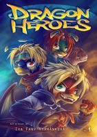 Dragon Heroes Vol. 1 Cover by Fany001