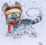 AT - Snow Times by IzaPug