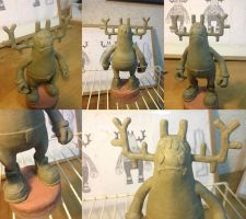 Don Antler resin figure WIP prototype by ExoesqueletoDV