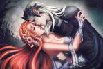 Astaniel and Alaera by Jhadin