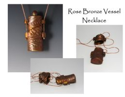 Vessel Necklace by Peaceofshine