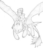 Toothless_Test_Drive by DemonDice