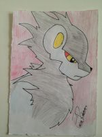Luxray by wolfwunder