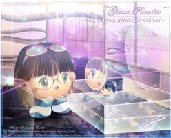 Yuki in bmobstyle at the Glasses shop by Kauthar-Sharbini