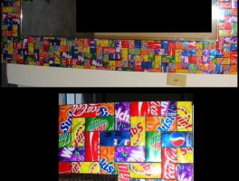 Soda Can Mirror by radioactive-orchid