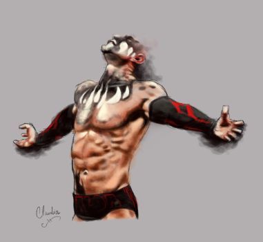 Finn Balor study by claudiall