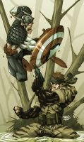 CAP vs SNAKE by Red-J