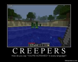 CREEPERS by armymonkey1