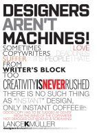cyrusDESIGNERS AINT MACHINES by cyrusmuller