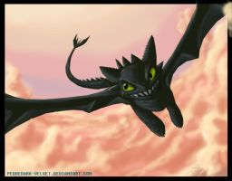 SPEEDPAINT TOOTHLESS by PEQUEDARK-VELVET