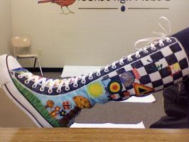 Color on Converse by ColoR-LoveR