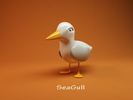 seagull - 1 by vozzz