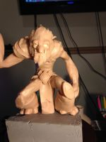 Trundle - The Troll King - Sculpt by Vologaine