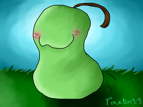Happy Widdle Pear by raelin11