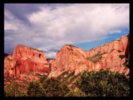 Kolob Canyon by Morna