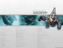 Grunt Wallpaper by tecknostylo
