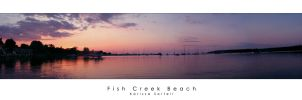 Fish Creek Beach by Starry-eyed25