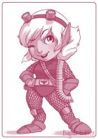Tristana - League of Legends by Kalumis