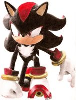 Shadow the Hedgehog :: Shadow by DabyHedgehog