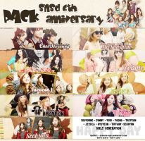 Pack CoverZing#2 [ SNSD 6th Anniversary ] by Syaoran-Ngo
