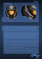Halo 4 Helm Redesign Aviator by Guyver89
