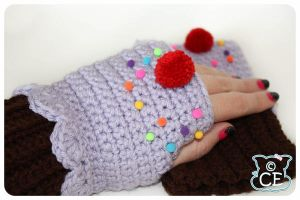 Purple Cupcake Gloves 3 by moofestgirl