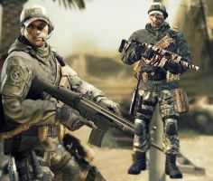 Allied Forces Recon [ARCTIC COMBAT] by Goreface13