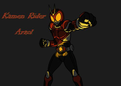 No.3 Request Kamen rider Arzol by ArkAges
