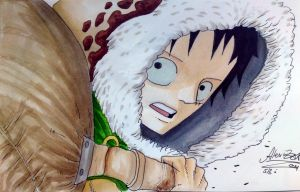 Luffy 598 by OnePiecerin