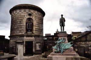 David Hume's Mausoleum by Siiil