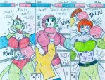 Boxing You - Tails - vs Nintendo Girls by Jose-Ramiro