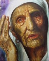 old woman by soonthen