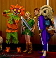 Majora's Mask at Connecticon by Misakochan