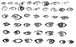 Day 1 - Eye Practice by HarryKayan