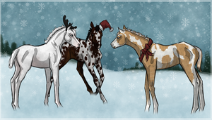 Holiday Foals by NorthEast-Stables
