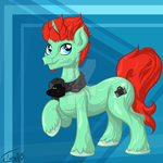 Thomas-J - the pony who is not a brony by mirry92