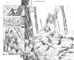Exterminatus 1 Pages 2 and 3 by cronevald